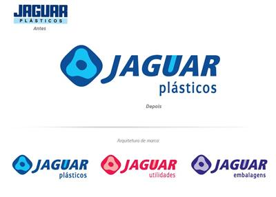 Jaguar – Arquitetura de Marca, Identidade Visual